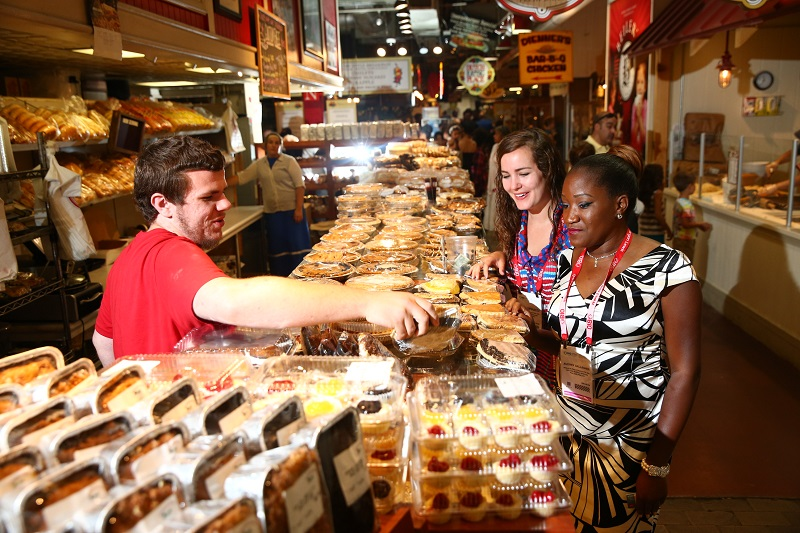 Philly's culinary renaissance is evident everywhere, from neighboring Chinatown to the Amish and ethnic food stalls in famed Reading Terminal Market right next door. (Photo: PHL CVB)